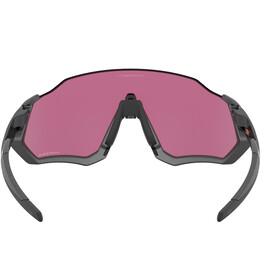 Oakley Flight Jacket Gafas de Sol Mujer, negro/violeta